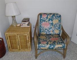 furniture wicker sunroom chair