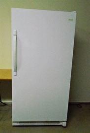 appliance frigidaire upright freezer