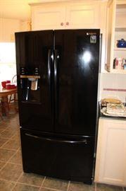 appliance samsung black refrigerator