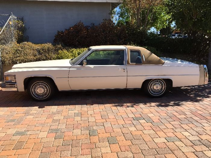1978 Cadillac Coupe Deville, one owner and low miles!
