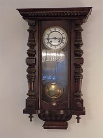German Regulator Clock