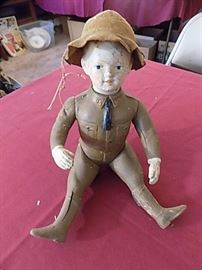"Vintage WW I  ""Dough Boy"" Doll by Ideal Toy Co."