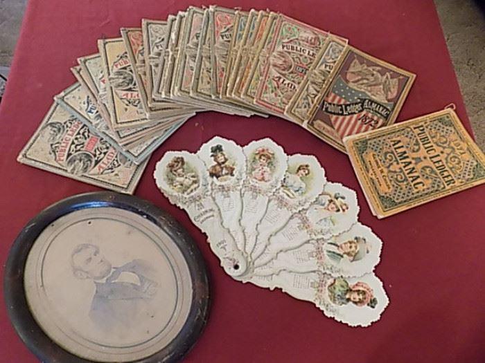 Philadelphia Public Ledger Almanacs 1871-1897
