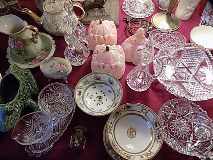 Miscellaneous Glass & China