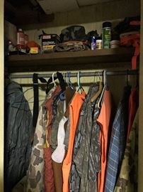 Camouflage hunting gears