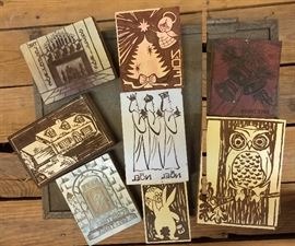 Woodcuts for Wood Block Printing