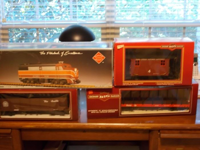 Antique train set