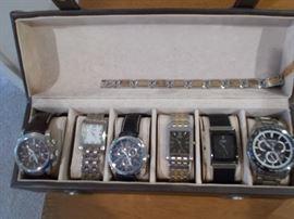 Collection of men's wataches