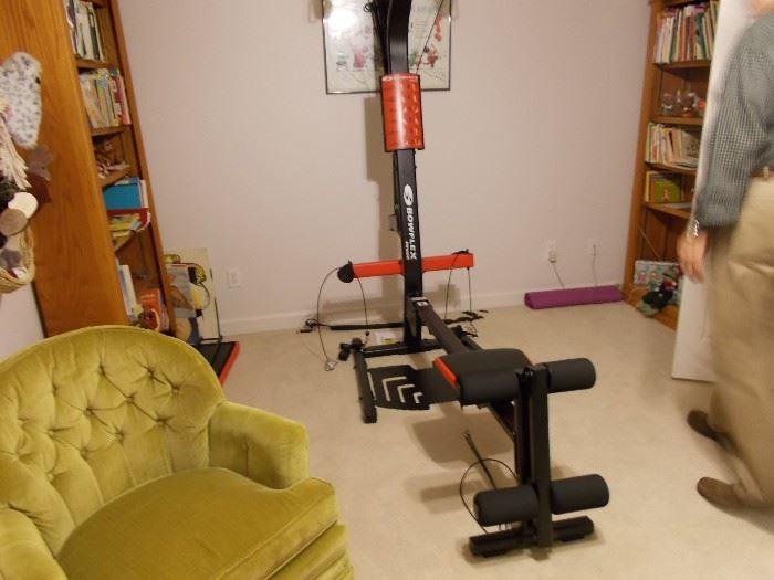 Boxflex exercise equipment