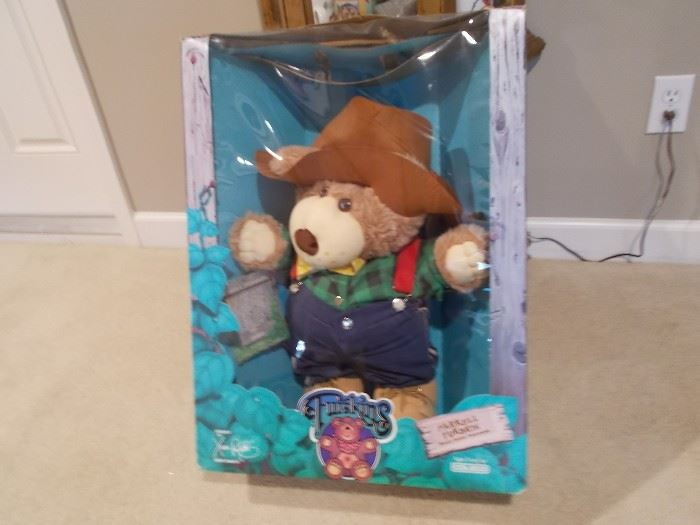 Collector plush doll