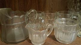 Very vintage glassware.