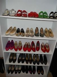 Ladies Shoes (mostly size 7-8)