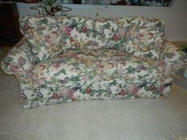 Floral/Fruit Patterned Sofa