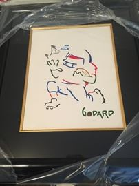 Michael Godard ORIGINAL Painting - Rare