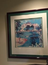 Leroy Neiman 79 Print Matted and Framed 35 x 33