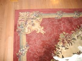 Lovely rugs throughout