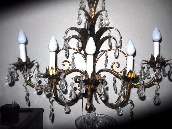 Beautiful wall chandelier