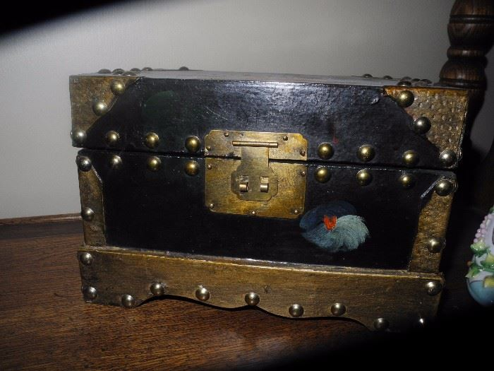 Small decorative trunk