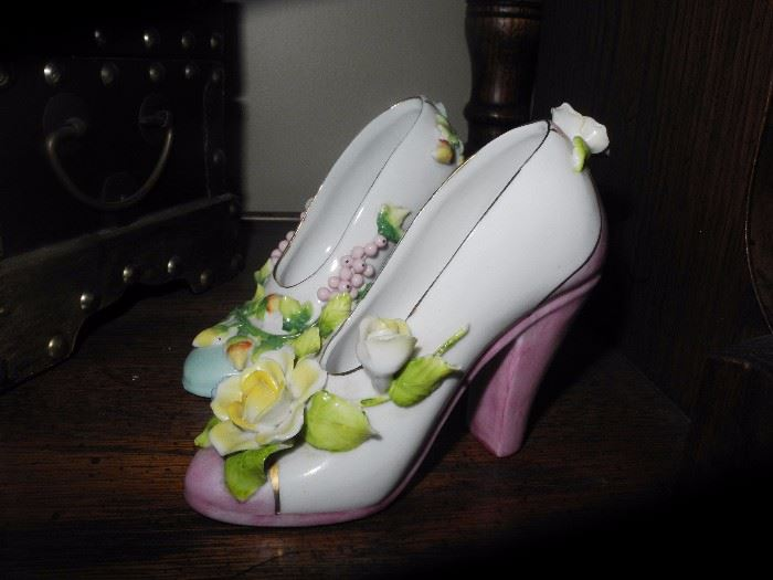 Ceramic shoes (there are more)