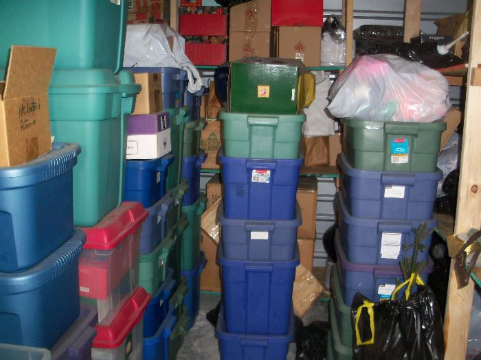One of several storage units