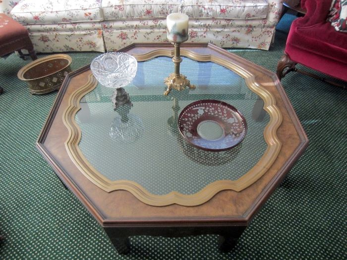 Baker Collector's edition coffee table.