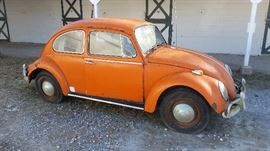 1968 Volkswagen Beetle Bug Sold at 4:30 (As Is) No Title