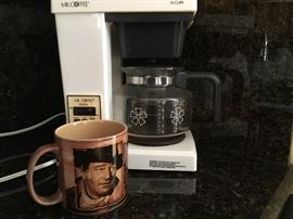John Wayne Coffee mug  ~ small Kitchen appliances including coffee pot