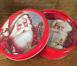 Christmas items Including Santa Coaster set
