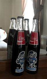 TARHEELS Vintage Coke Bottles Unopened