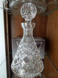 Waterford decanter.