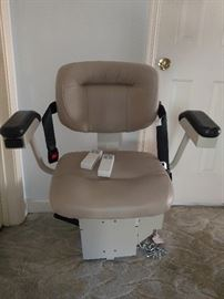 Bruno Electric Stair Lift Chair, 2004, Serial #04120300724
