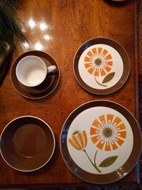 "33-Piece Set of Mikasa ""Duplex"" china, by Ben Seibel"