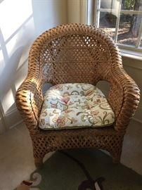 Sunroom wicker