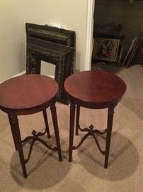 """Henredon side tables 16"""" diameter"""