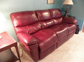 VERY NICE electric leather recliner