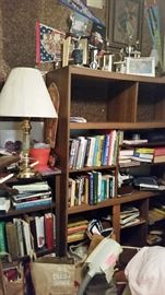 Wood book shelves, Lamps, PRESIDENT OBAMA Collectibles. ALL 50% OFF SATURDAY!