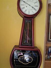 reproduction banjo clock