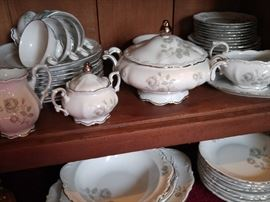 German porcelain dinnerware