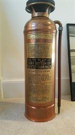 Vintage MINT condition fire extinguisher