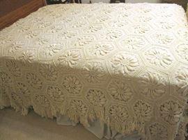 Beautiful handmade bedspreads