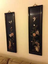 Black Lacquer wall art!