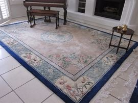 We have two of these area rugs.
