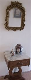 Antiques and collectibles in every nook and cranny