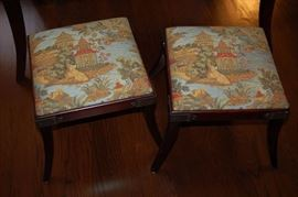 Asian style stools