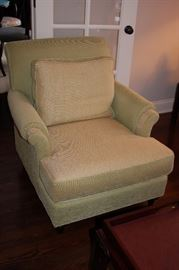 Matching chair - Light green/ivory by Baker