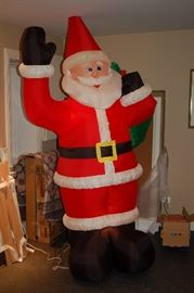 "8"" inflatable outdoor santa"
