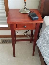 Mission style nightstand set