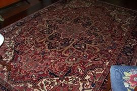 Rug in the living room -