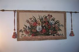 Tapestry - new but priced with the rod and the tassles
