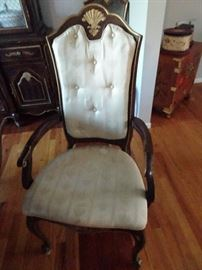 Dining Room Arm Chair - one of two plus 4 side chairs